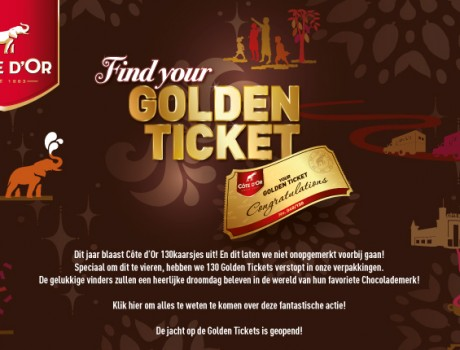 Cote d'Or Golden Ticket