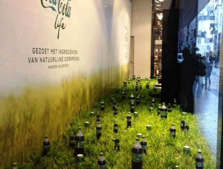 Coca-Cola life launch