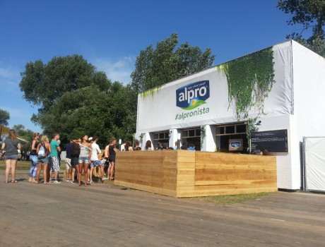 Alpro at Dreamville