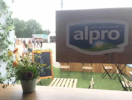 Alpro at Tomorrowland – with a Bananas flavor