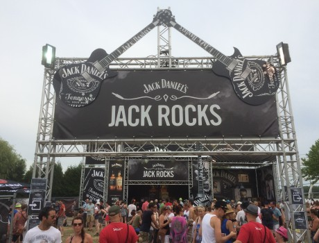Jack Daniels at Belgian festivals