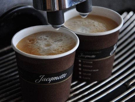 Jacqmotte Coffee Pop Up at festivals