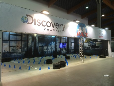 Toyota & Discovery Channel at Autosalon 2016